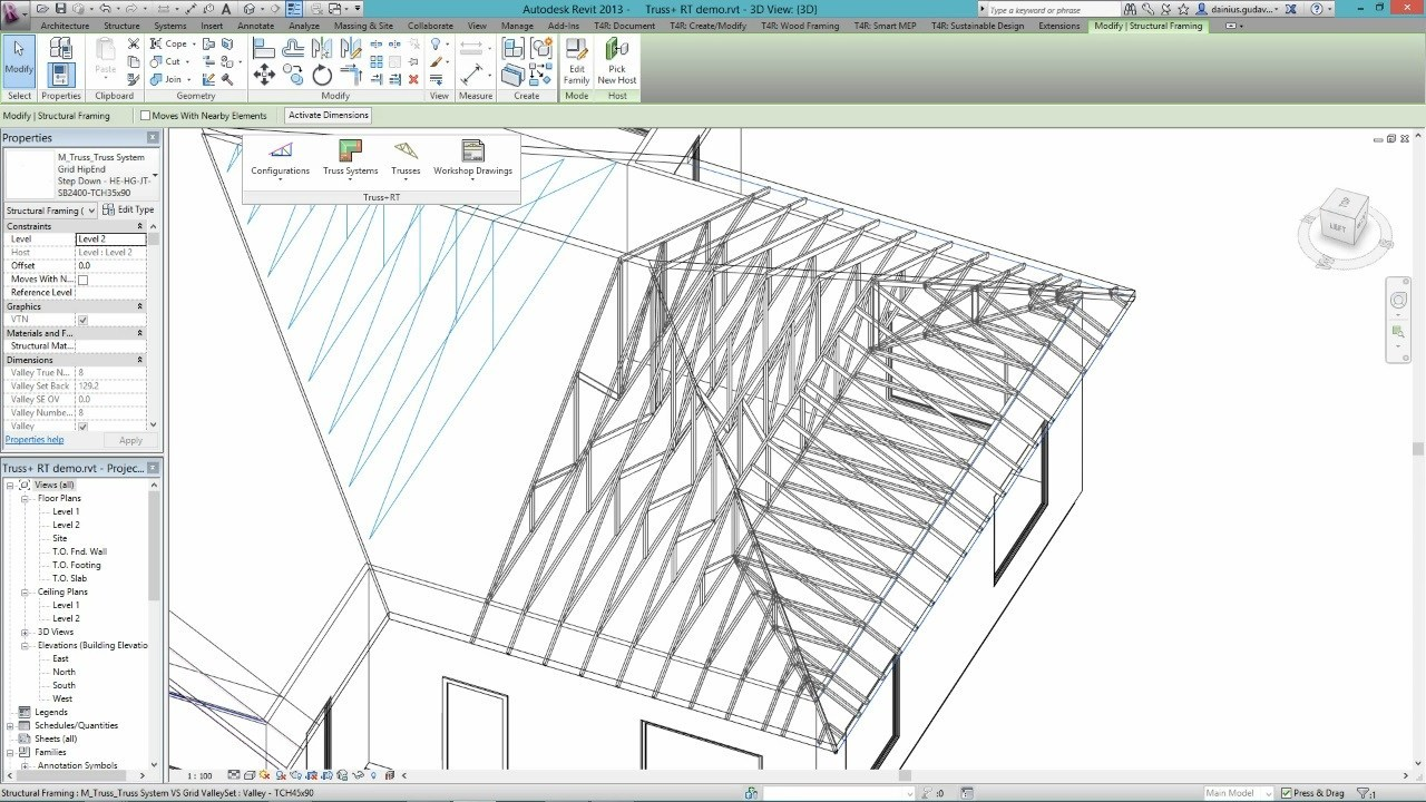 Truss+RT Download - It allows structural designers to