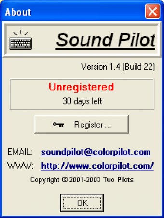 Sound Pilot 1 4 Download (Free trial) - HTypist exe