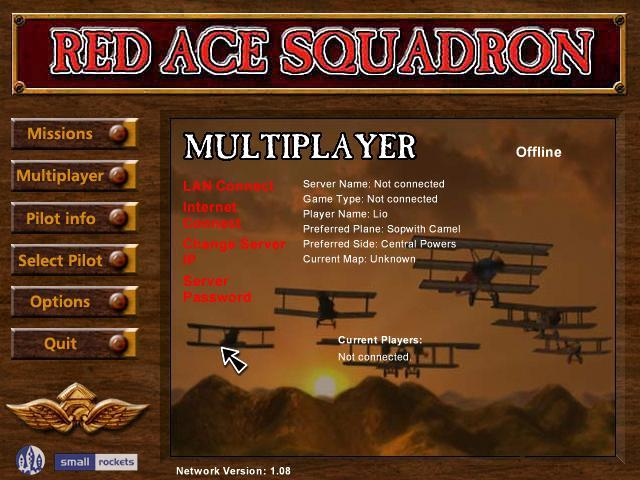 Multiplayer settings