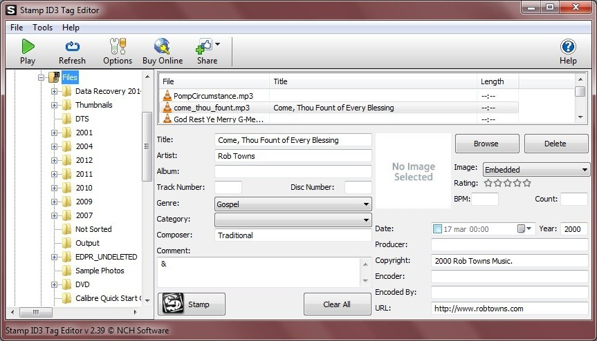 Stamp ID3 Tag Editor  Get the software safe and easy