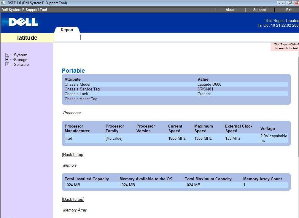 Dell System E-Support Tool 2 2 Download
