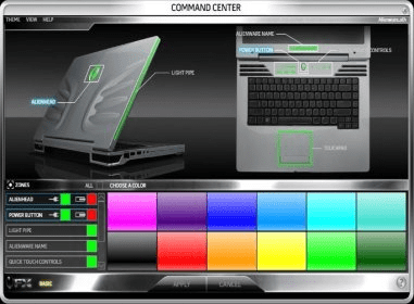 Alienware Command Center software and downloads (CommandCenter exe)