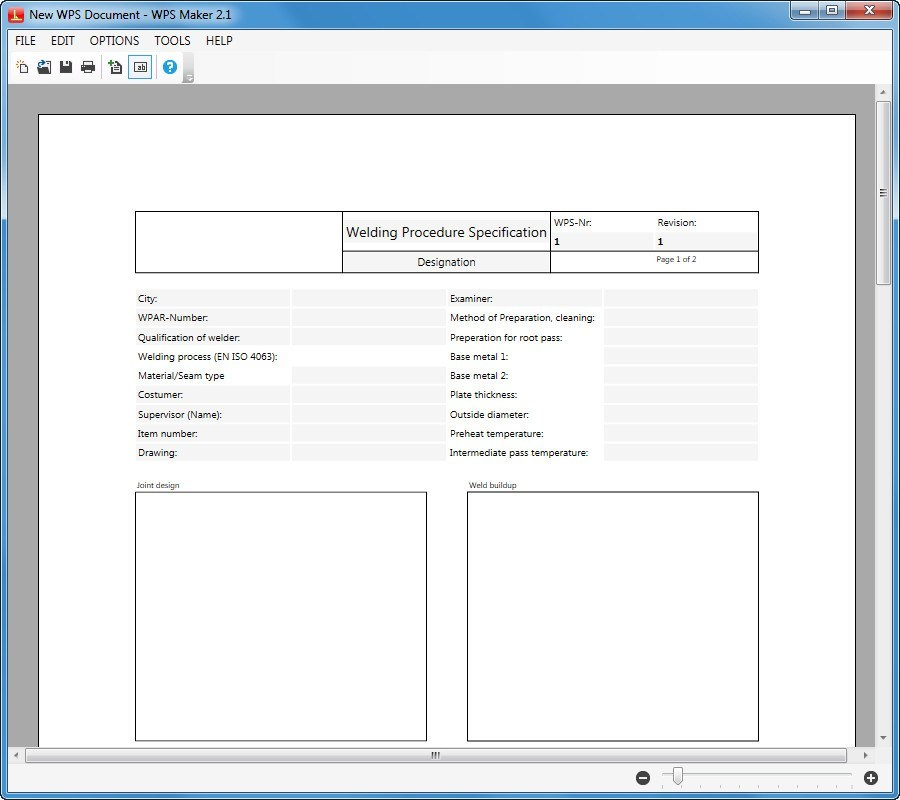 Wps Maker Download It Allows You To Create Welding Procedure Specifications