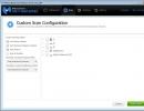 Custom Scan Configuration