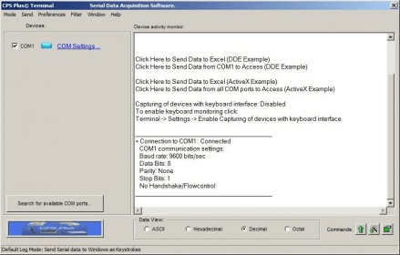 CPS Plus - Software Informer  It receives data from almost