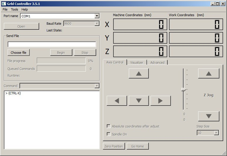 Grbl Controller 3 6 Download (Free) - GrblController exe