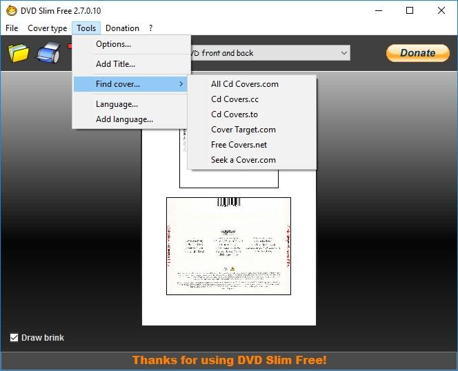 DVD Slim Free 2 7 Download (Free) - DVD Slim Free exe