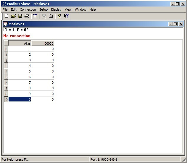 Modbus Slave  Get the software safe and easy