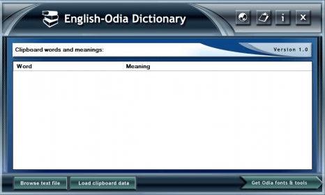 Download English Mini Dictionary Java App