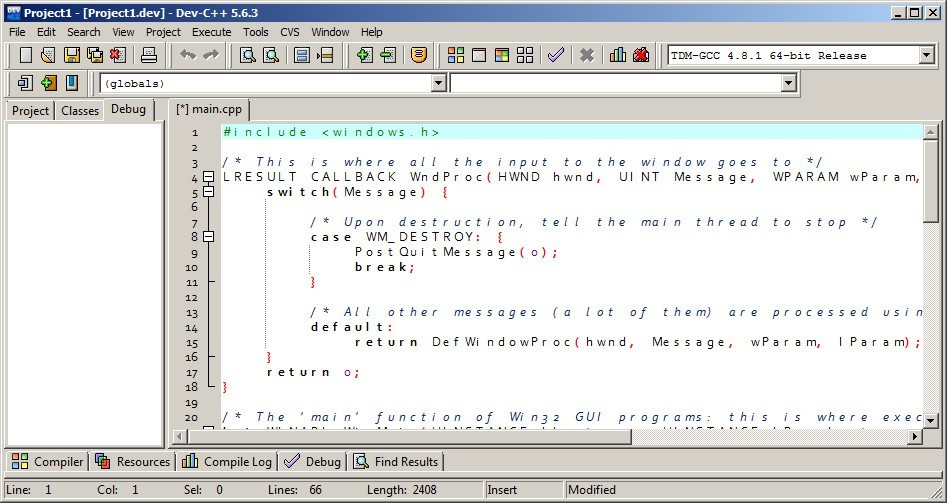 Dev C++ 5.4 2 Free Download