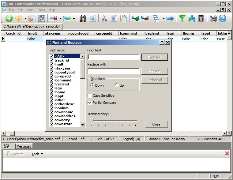 DBF Commander Professional 2 2 Download (Free trial