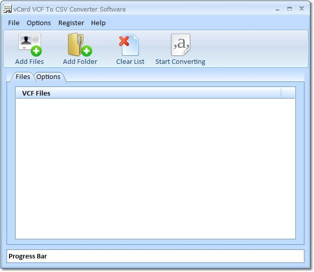 vCard VCF To CSV Converter Software  Get the software safe and easy