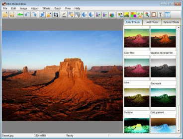 Elfin Photo Editor (free version) download for PC
