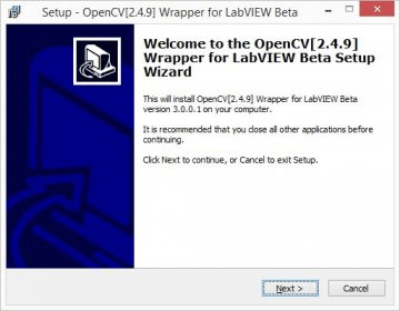 OpenCV Wrapper for LabVIEW Download - Add-on used in the LabVIEW
