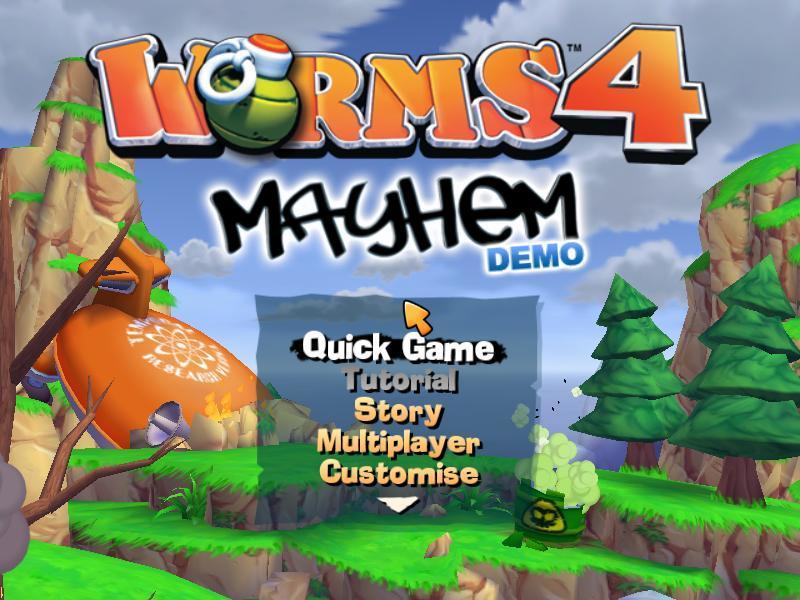Worms 4 Mayhem DEMO