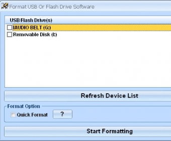 Format USB Or Flash Drive Software Download Free Version