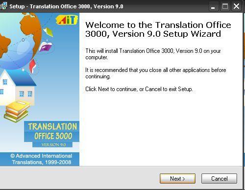 Translation Office 3000-Version