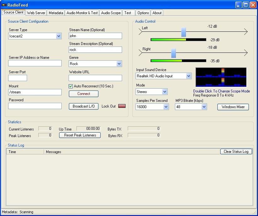 RadioFeed 3 4 Download (Free) - RadioFeed exe