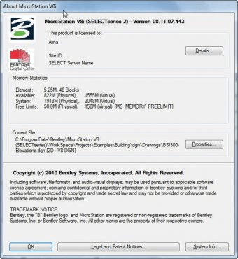 Bentley MicroStation 8 1 Download (Free trial) - ustation exe