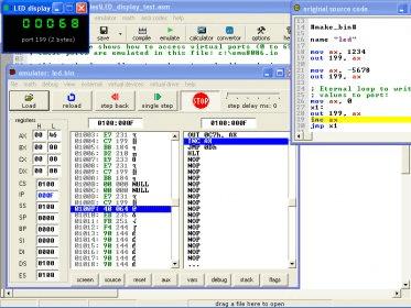 8086 TÉLÉCHARGER EMULATEUR ASSEMBLEUR