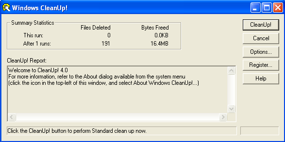 windows cleanup exe