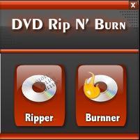 Main Window Rip - Burn