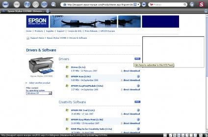 Epson easy photo print module download