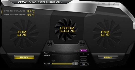 MSI VGA Fan Control Download (MSIVGAFanControl exe)