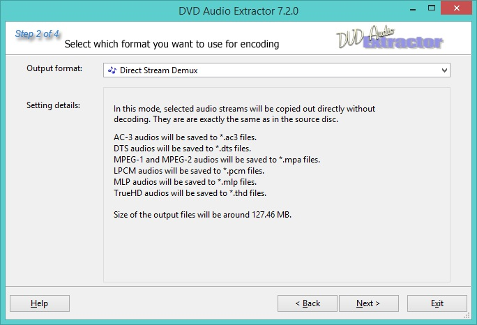 Direct Stream Demux