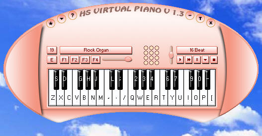 HS Virtual Piano Download - MIDI piano, play by using your