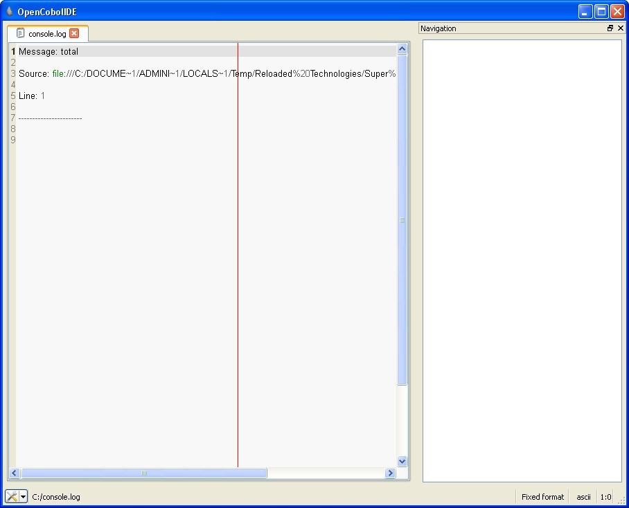 OpenCobolIDE 4 6 Download (Free) - OpenCobolIDE exe