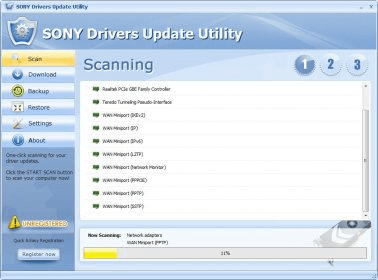 SONY Drivers Update Utility Download - It is a program that