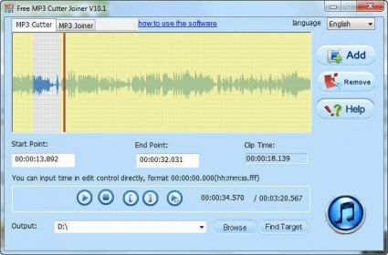 Free MP3 Cutter Joiner 10 1 Download (Free) - Free MP3 Cutter Joiner exe