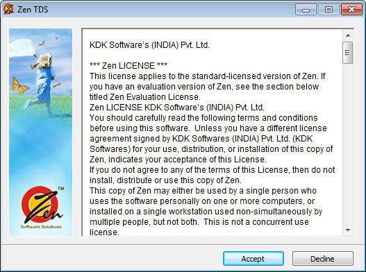zen tds kdk software