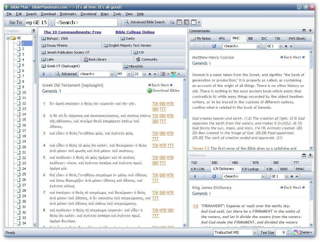BibleMax Greek Old Testament (Septuagint) Download