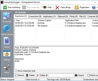 torrent actual keylogger