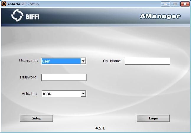 AManager PC Download - Control, set up, and diagnose Biffi electric
