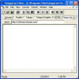 TeluguLipi Editor 4 2 Download (Free) - TeluguLipiEditor exe
