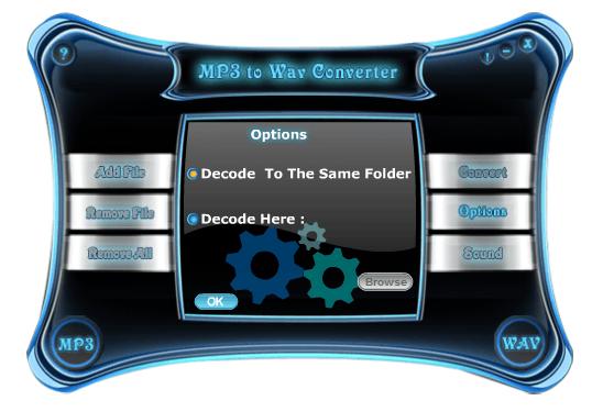 Advanced MP3-WAV Converter Download - This program allows