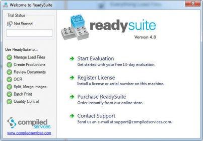 ReadySuite 4 8 Download (Free trial) - readysuite exe