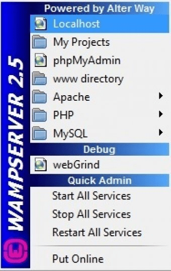 WampServer 2 4 Download (Free) - wampmanager exe