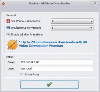 Kastor - All Video Downloader 5 9 Download (Free