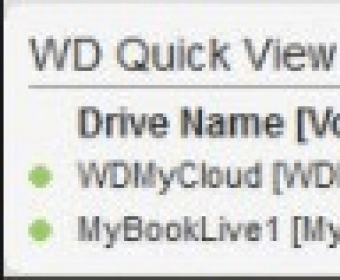 WD Quick View Download (WDDMStatus exe)