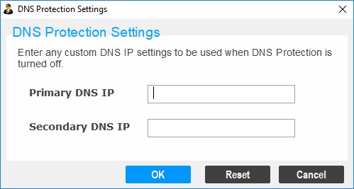 DNS Protection Settings