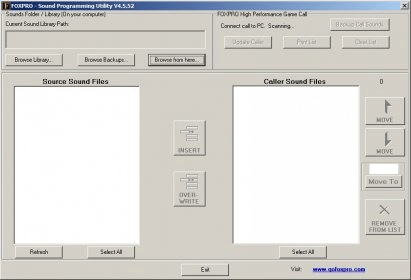 FOXPRO Programmer Download - Game sound programming utility