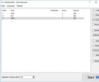 Auto Keyboard 10 0 Download (Free trial) - AutoKeyboard exe