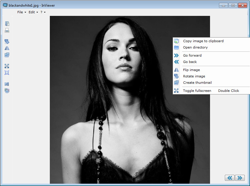 Image Viewer with Context Menu