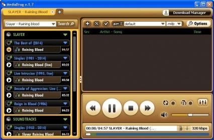 MediaDrug 1 7 Download (Free) - mediadrug exe