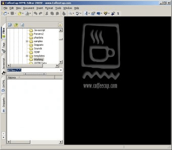CoffeeCup HTML Editor 9 5 Download (Free trial) - Coffee exe