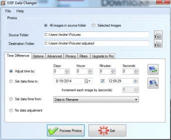EXIF Date Changer 3 0 Download (Free) - ExifDateChanger exe